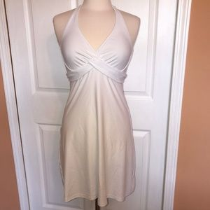 Athleta Tara swim halter dress 36 B/C